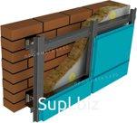 Фасадные кассеты открытого типа с порошковым покрытием