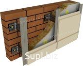 Фасадные кассеты закрытого типа с полимерным покрытием 575х575 мм толщина 1,00 мм